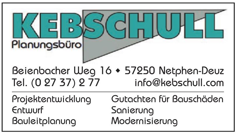 Kebschull Planungsbüro