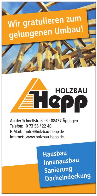 Holzbau Hepp