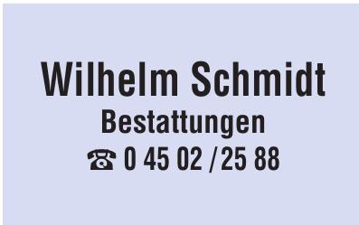 Wilhelm Schmidt Bestattungen