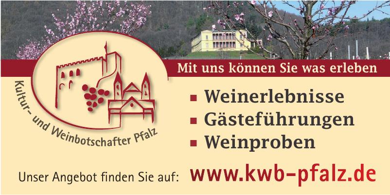 Kultur- und Weinbotschafter Pfalz