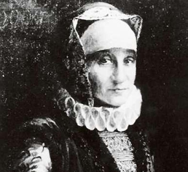 Bertha Pappenheim als Glikl. So ließ sich die Memoiren-Übersetzerin 1925 von Leopold Pilichowski malen.