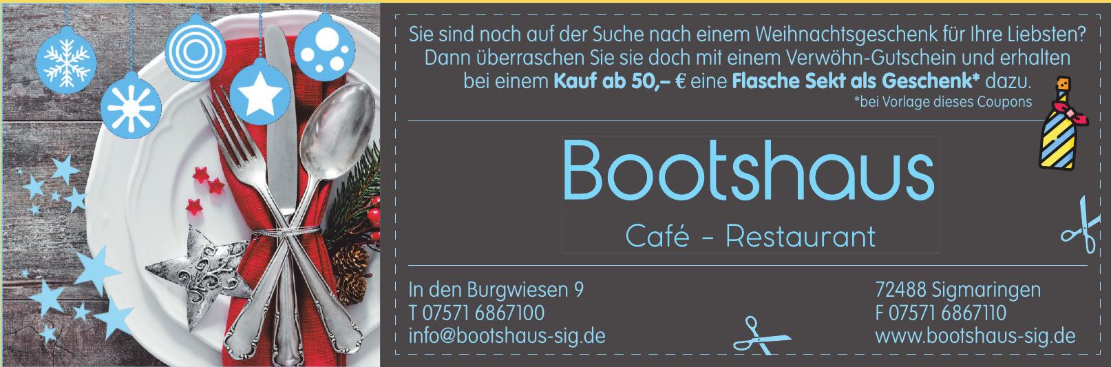 Bootshaus Sigmaringen