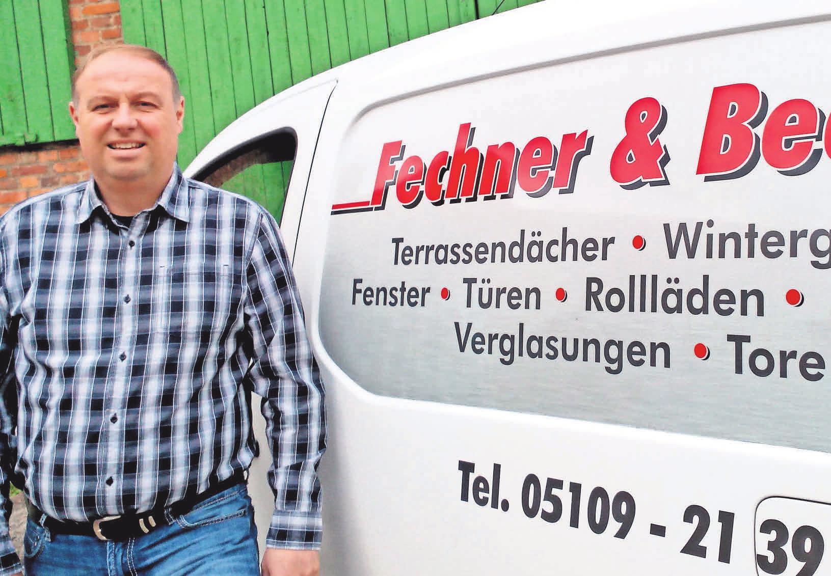 Frank Becke bietet seinen Kunden einen Rundum-Sorglos-Service. Foto: Becke