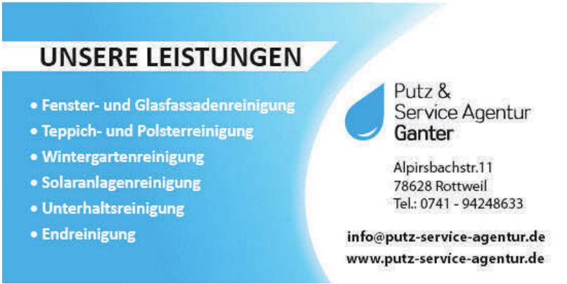 Putz & Service Agentur Ganter