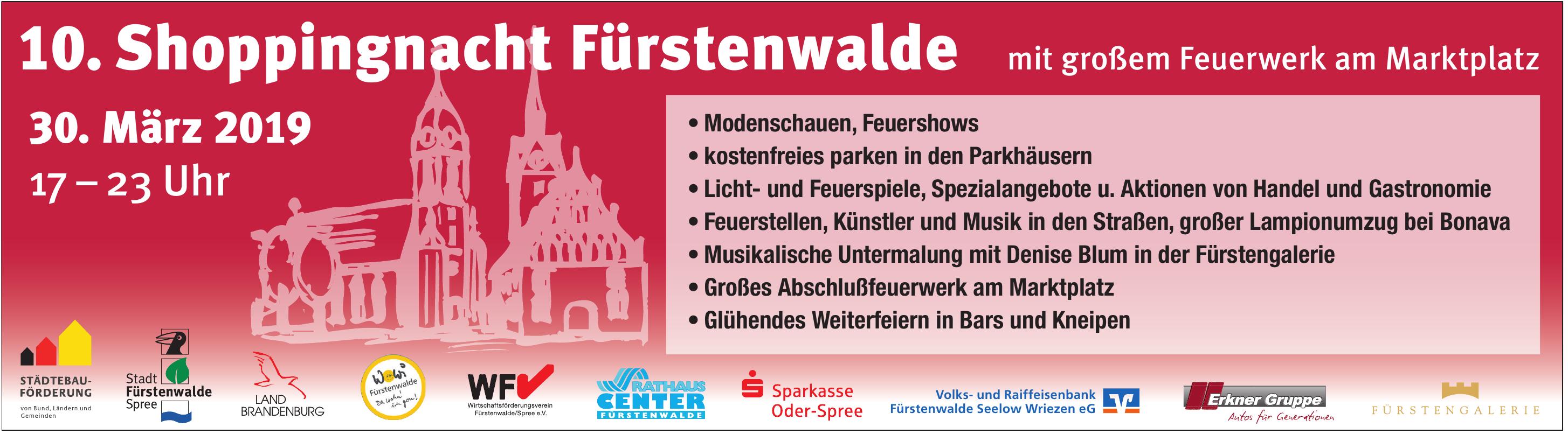 10. Shoppingnacht Fürstenwalde