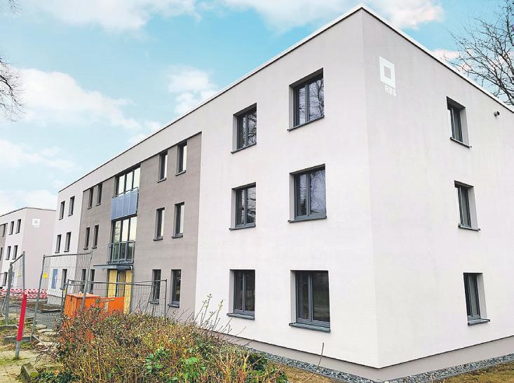 Die Häuser zeichnen sich durch eine energieeffiziente Bauweise aus Bild: zVg