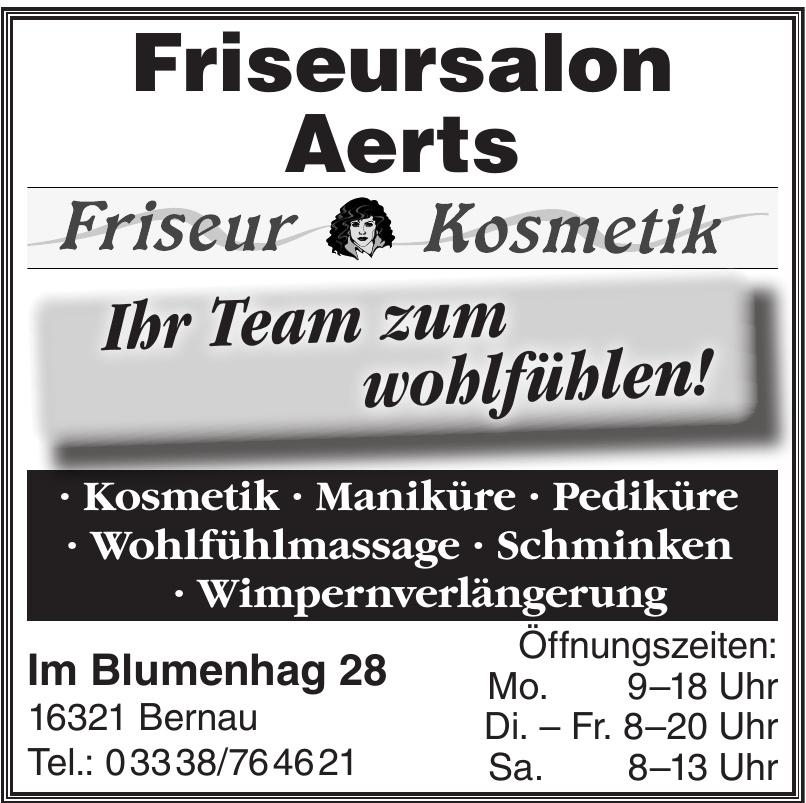 Friseursalon Aerts - Friseur  Kosmetik