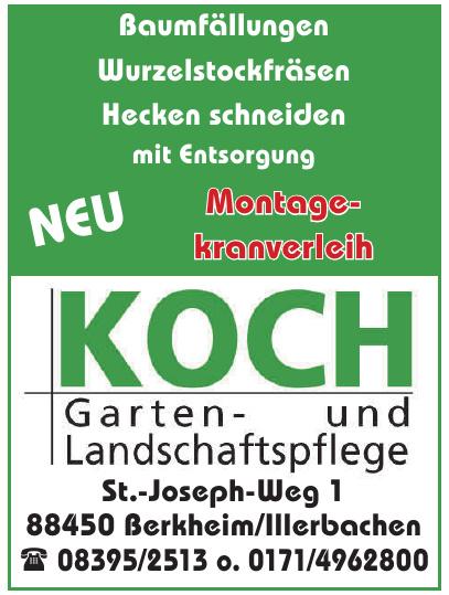 Koch Garten- und Landschaftspflege