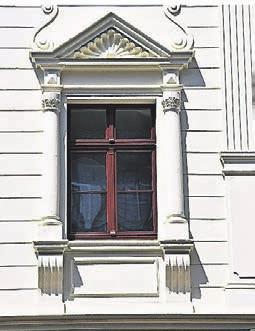 Fensterpartie nach der Sanierung