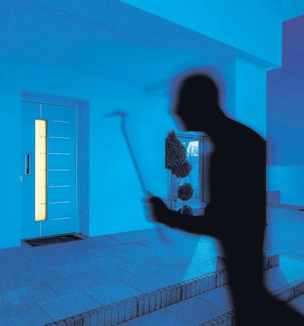 Mit Sicherheitstechnik dem Einbrecher ein Schnippchen schlagen. Foto: Wirus Fenster GmbH & Co. KG/akz-o