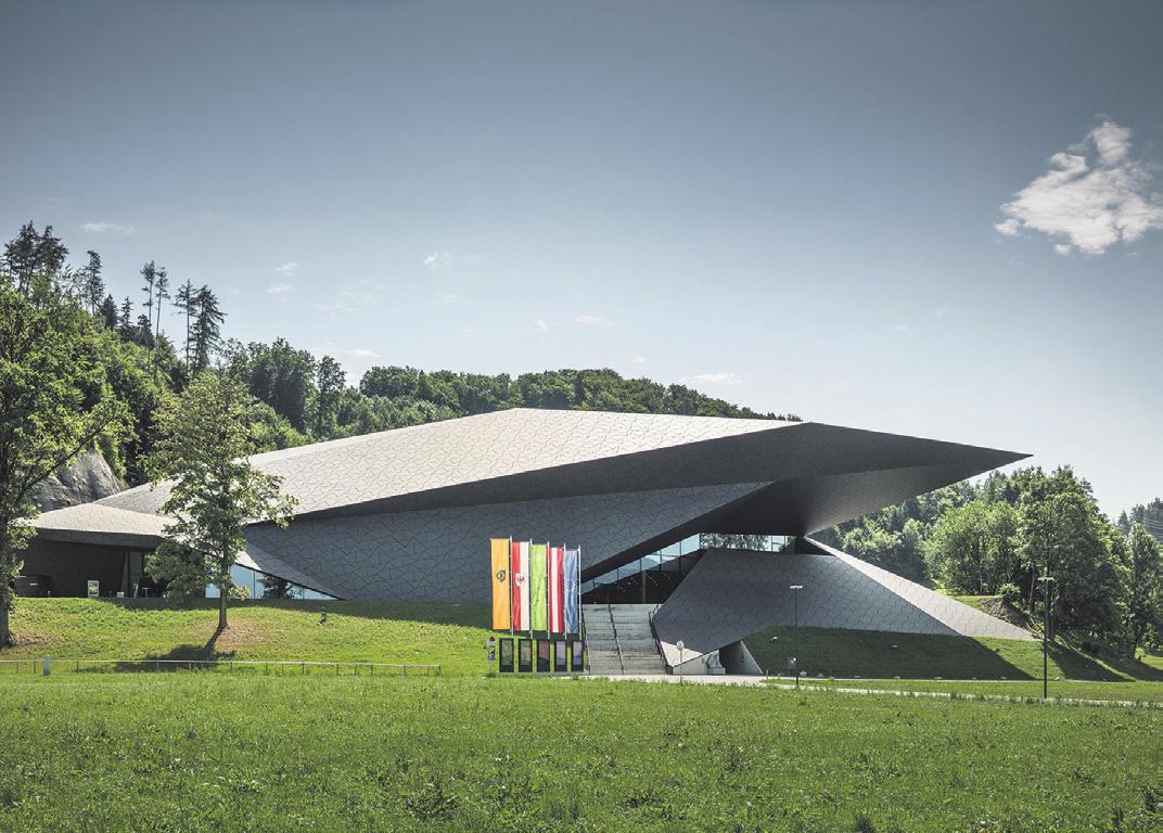 Festspielhaus Erl, Architektur Kufsteinerland ©lolin