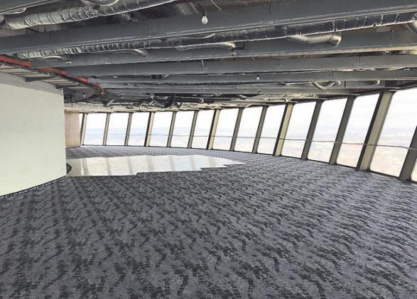 Die Aussichtsplattform. Foto: Deutsche Funkturm GmbH