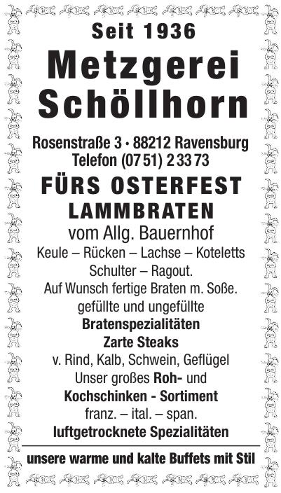 Metzgerei Schöllhorn
