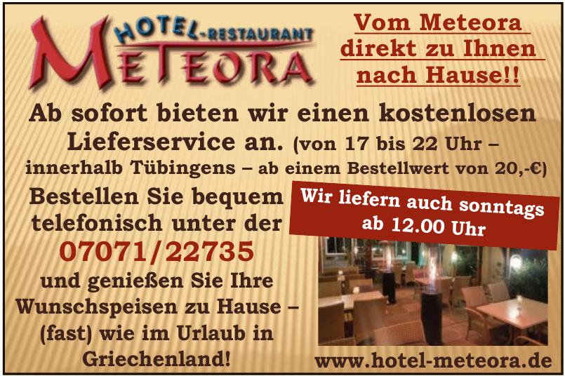 Hotel-Restaurant Meteora