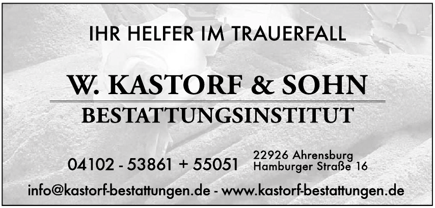 W. Kastorf & Sohn Bestattungsinstitut