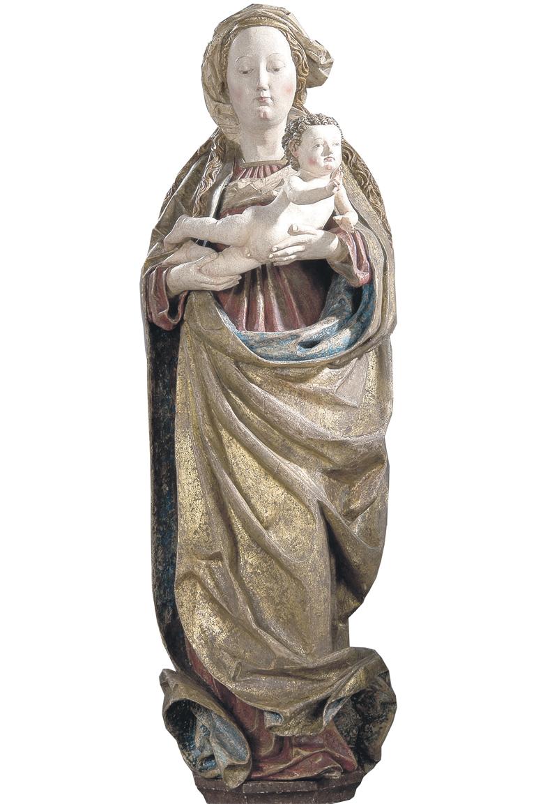 Maria mit Kind um 1500 Wenzel Kunsthandel (Bild Barthel fotostudio)