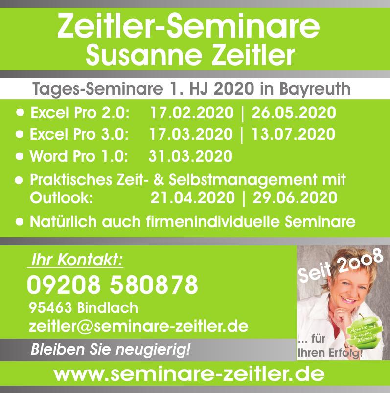Zeitler-Seminare - Susanne Zeitler