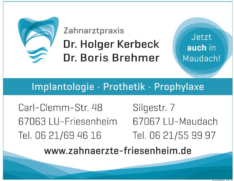 Dr. Holger Kerbeck, Dr. Boris Brehmer