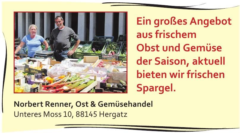 Norbert Renner, Ost & Gemüsehandel