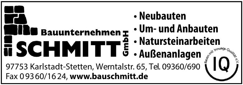 Bauunternehmen Schmitt
