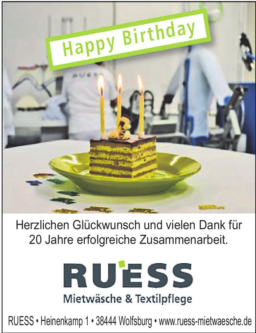 Ruess Mietwäsche & Textilpflege