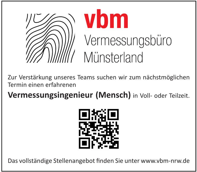vbm Vermessungsbüro Münsterland