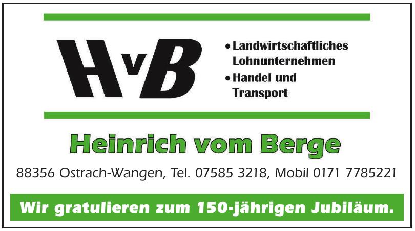 HvB Heinrich vom Berge