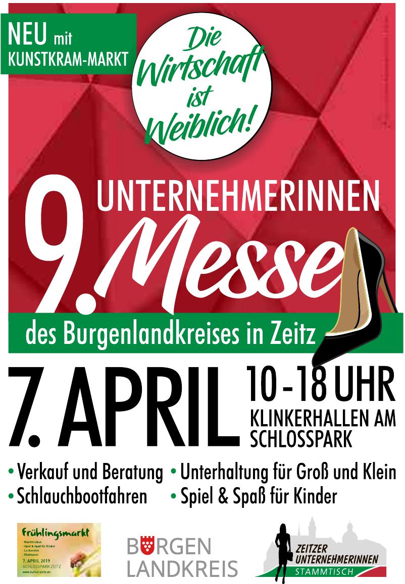 9. Unternehmerinnen Messe des Burgenlandkreises in Zeitz