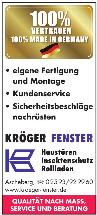 Kröger Fenster GmbH