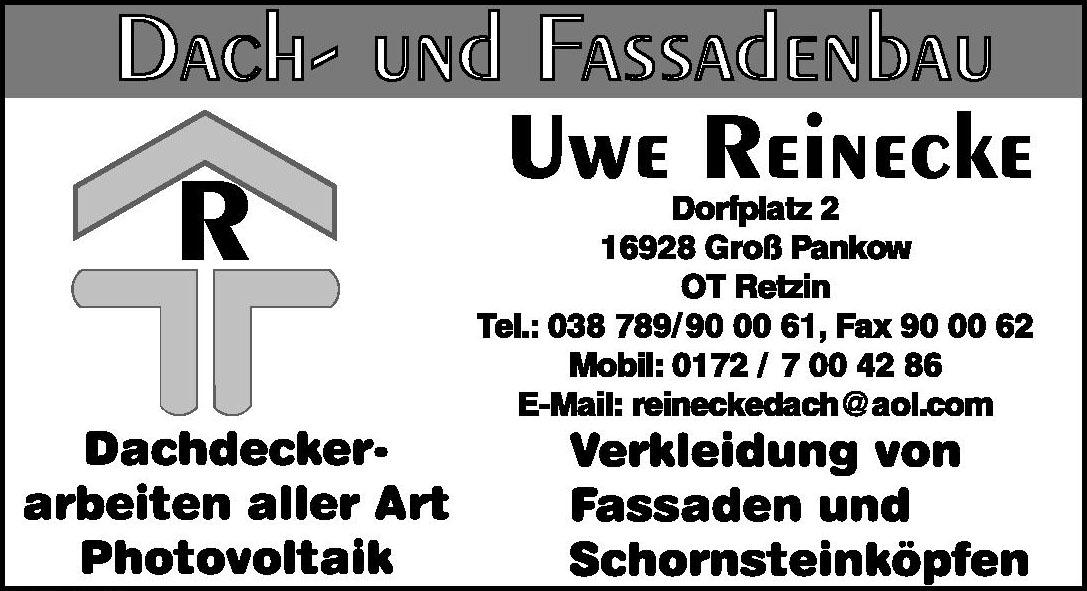 Dach- und Fassadenbau Uwe Reinecke