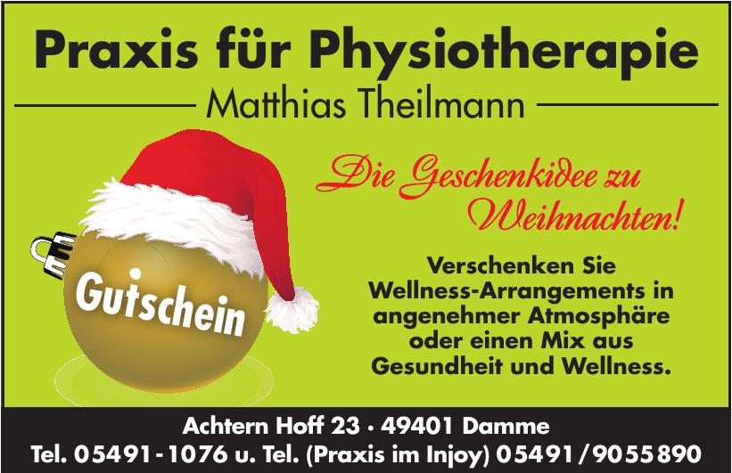 Praxis für Physiotherapie Matthias Theilmann