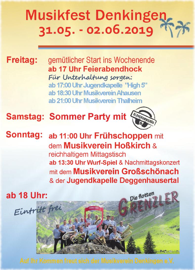 Musikfest Denkinger