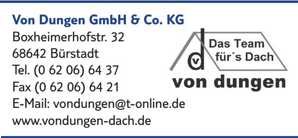 Von Dungen GmbH & Co.KG