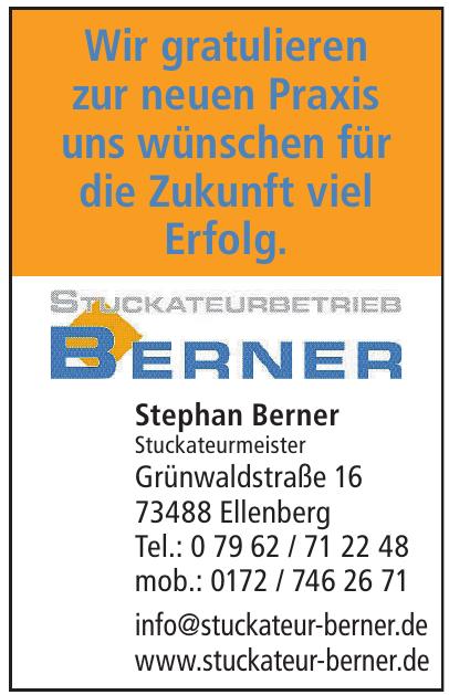 Stephan Berner Stuckateurmeister