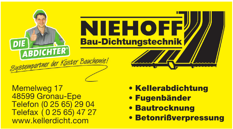 Niehoff Bau-Dichtungstechnik