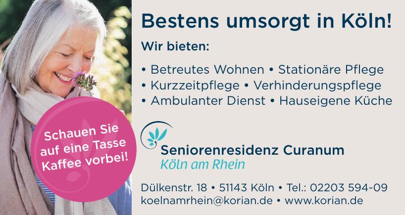 Seniorenresidenz Curanum Köln am Rhein