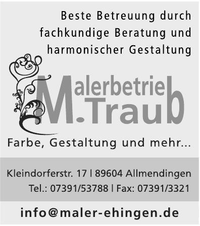 Malerbetrieb M. Traub