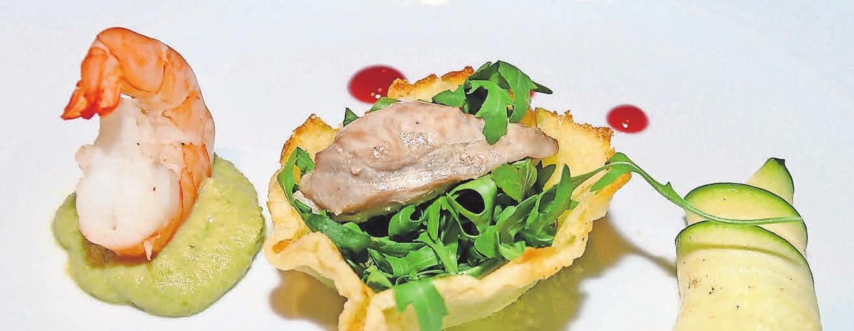 Die Speisen, die Sonja Käppler kocht und serviert, sind nicht nur Hingucker. Exquisite Geschmackserlebnisse sind auch garantiert