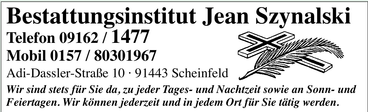 Bestattungsinstitut Jean Szynalski
