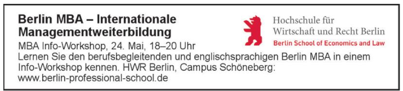 HWR Berlin - Campus Schöneberg