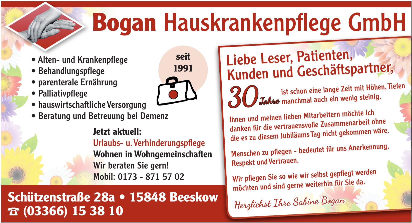 Bogan Hauskrankenpflege GmbH