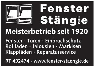 Meisterbetrieb Fenster Stänge GmbH