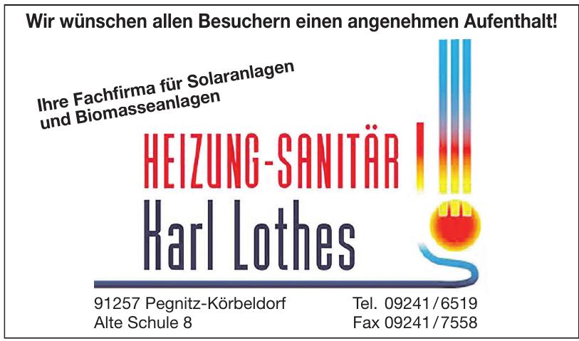 Karl Lothes Heizung - Sanitär