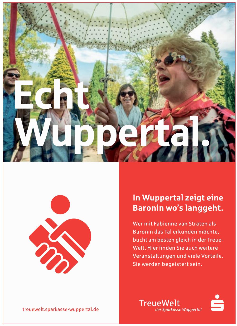 Treue Welt - Sparkasse Wuppertal