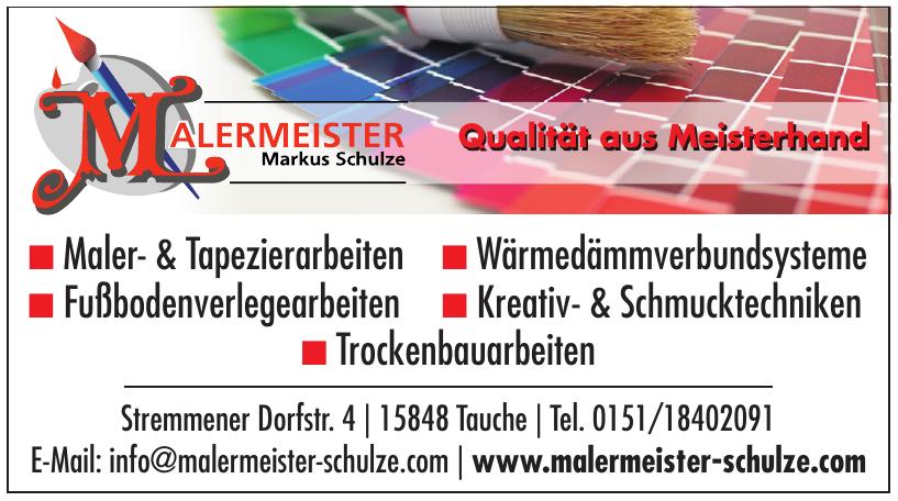 Malermeister Schulze