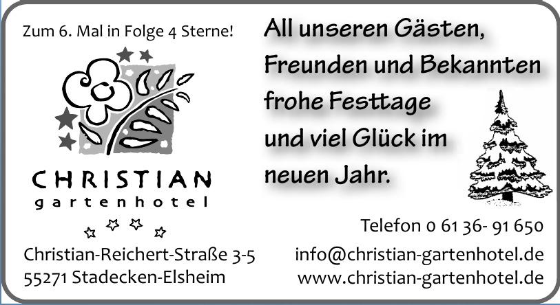 Christian Gartenhotel