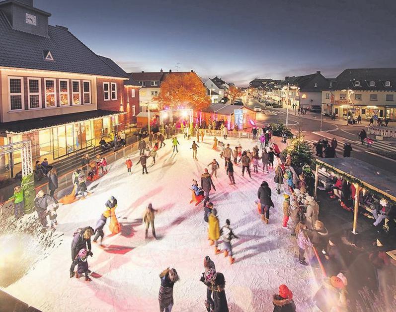 Die Eisbahn ist kostenlos nutzbarFoto: Thomas Lison