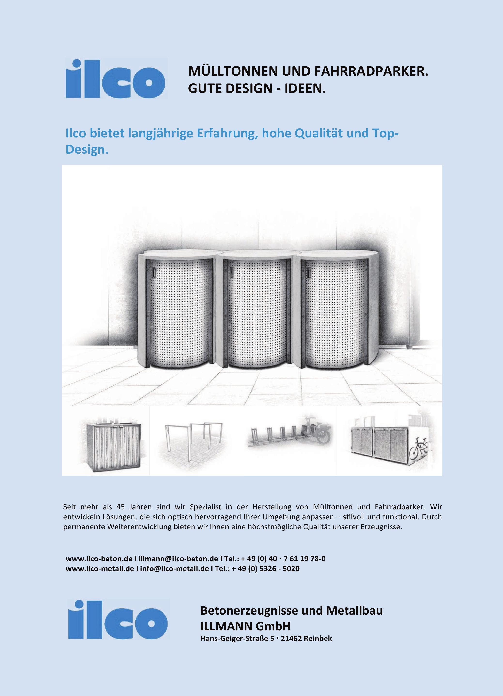 ilco Metallbau & Betonerzeugnisse Illmann GmbH