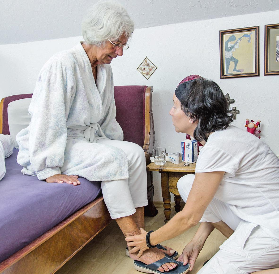 Angehörigen Pflegebedürftiger steht berufliche Auszeit zu.