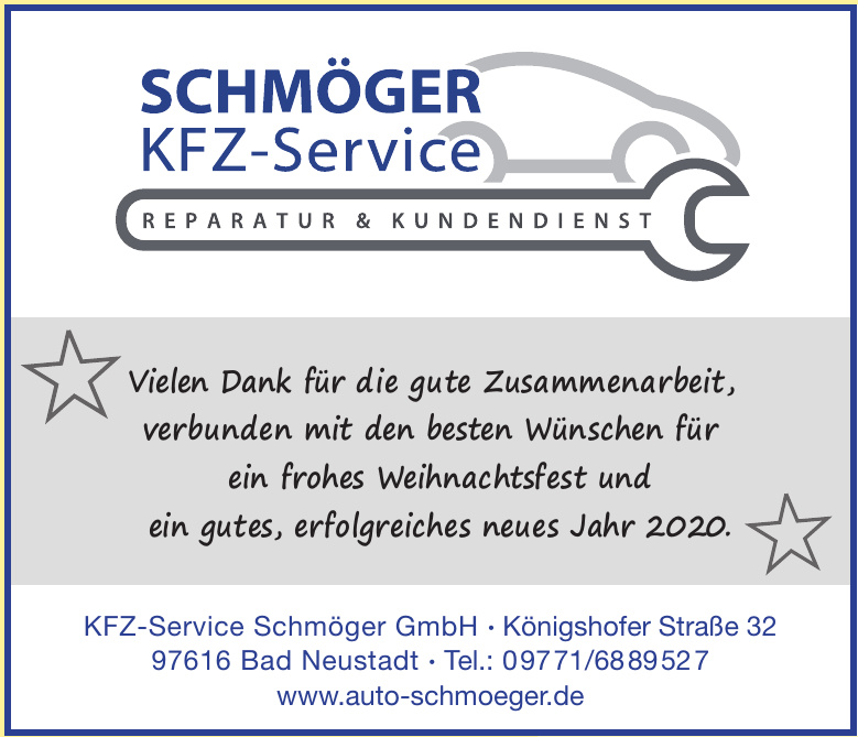 KFZ-Service Schmöger GmbH
